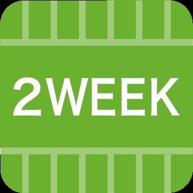 使い捨てレンズ-2week